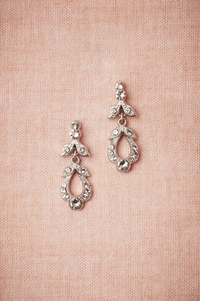 Debra Moreland Silver Fête Day Earrings | BHLDN
