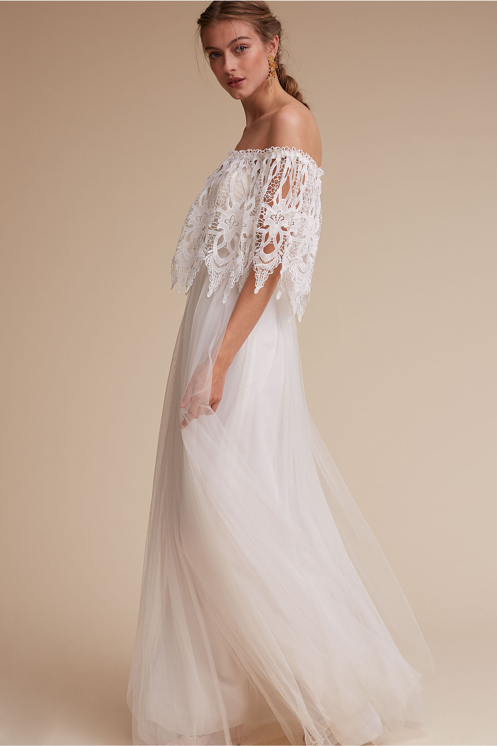 Annabelle Dress ivory in Sale | BHLDN