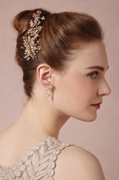 blush Blushing Bloom Comb | BHLDN