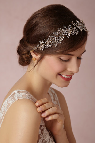 Twigs & Honey pearl Breathless Halo | BHLDN