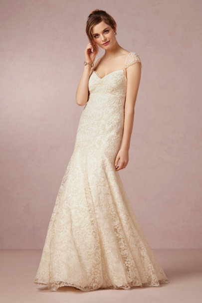 Leila gown in bride bhldn for Beholden wedding dresses