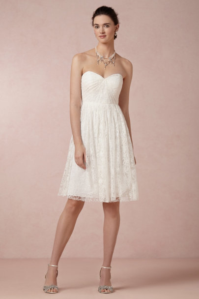 ivory Tilly Dress | BHLDN