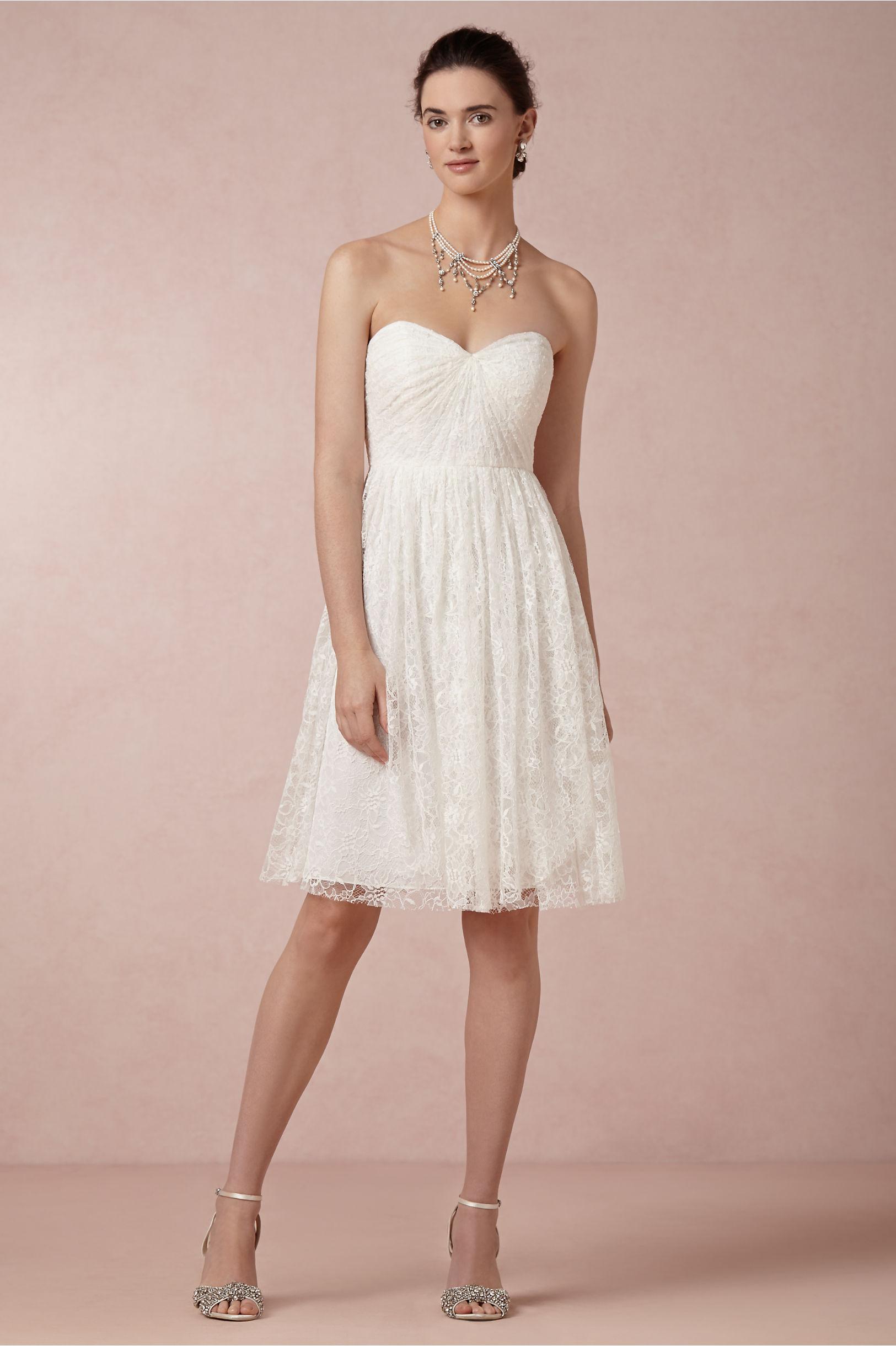 Ivory Tilly Dress | BHLDN