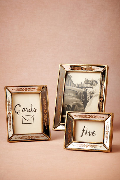 silver & gold Everlasting Frames (3) | BHLDN