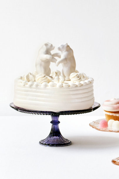 white Bear Hug Cake Topper | BHLDN