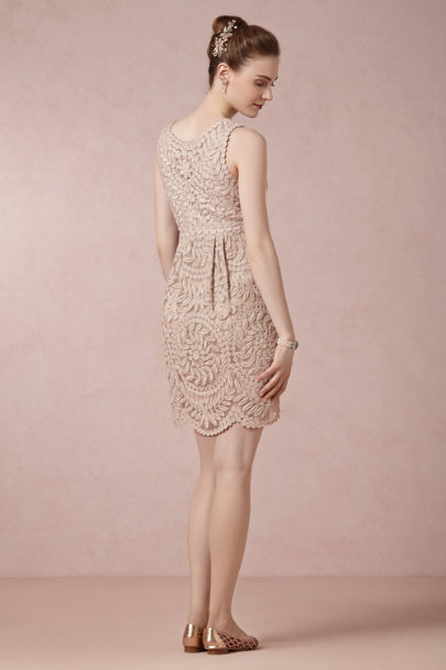 Yoana Baraschi champagne Sienna Dress | BHLDN