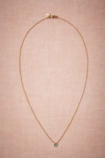 Blue Opal Beacon Necklace | BHLDN