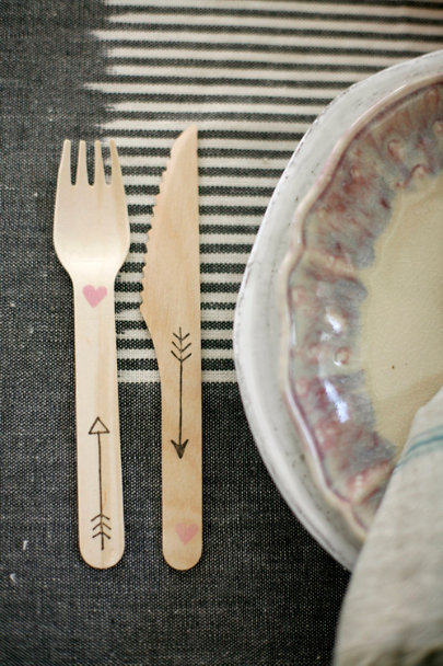 natural Amorous Flatware (20) | BHLDN