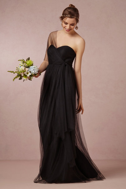 Jenny Yoo black Annabelle Dress | BHLDN
