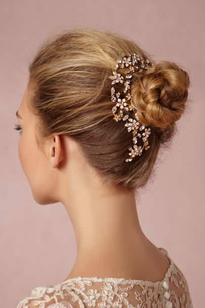 Debra Moreland gold Secret Garden Headpiece | BHLDN