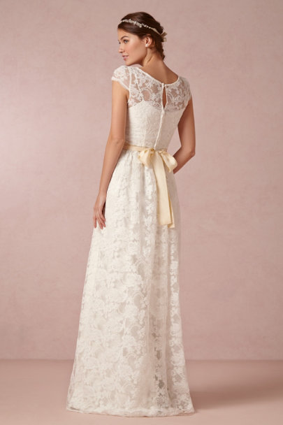 Leanne Marshall ivory Ellie Gown | BHLDN