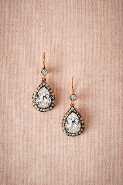 Azaara antique gold Caspian Drops | BHLDN