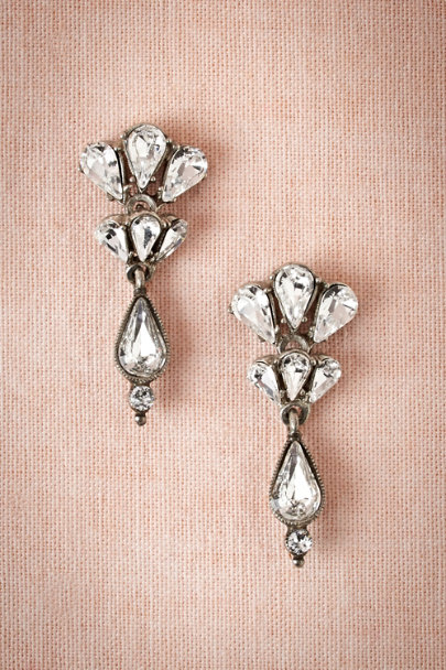 crystal Lightcatcher Earrings | BHLDN