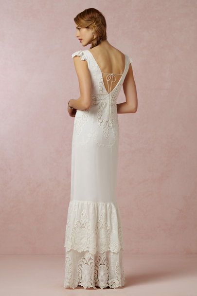 ivory Nuptia Dress | BHLDN