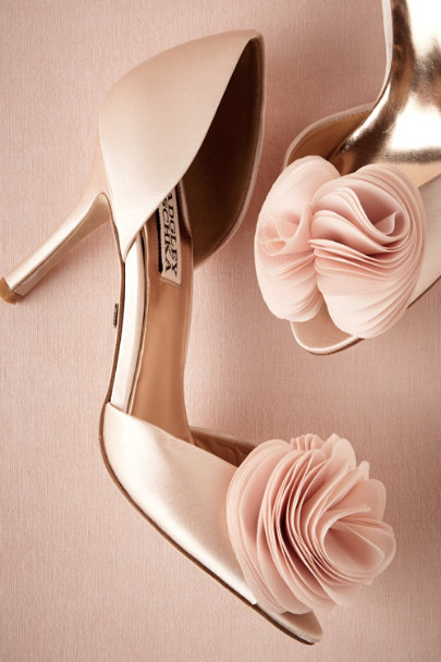 Badgley Mischka PINK Milly Heels | BHLDN