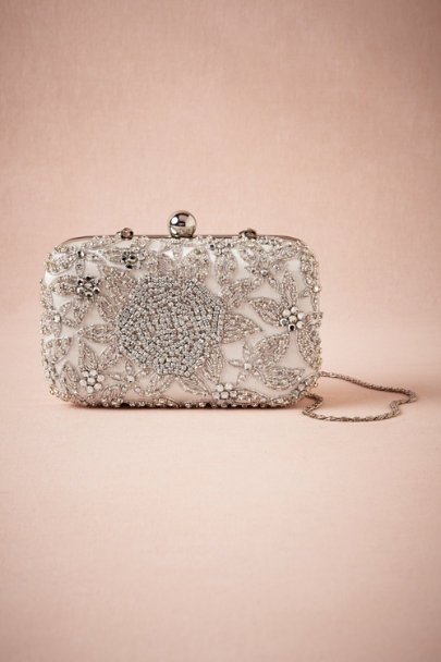 Crystal Crystal Rose Clutch | BHLDN