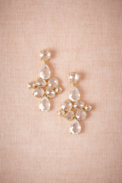 gold Gilded Waterdrop Earrings | BHLDN