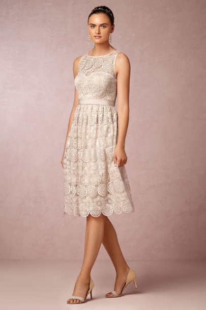 champagne Sylvie Dress | BHLDN