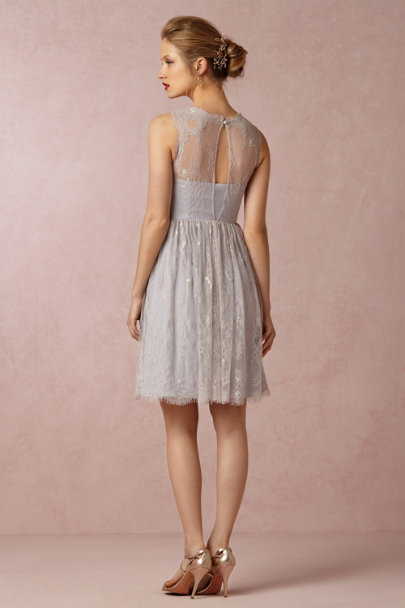 Hitherto mist grey Celia Dress | BHLDN