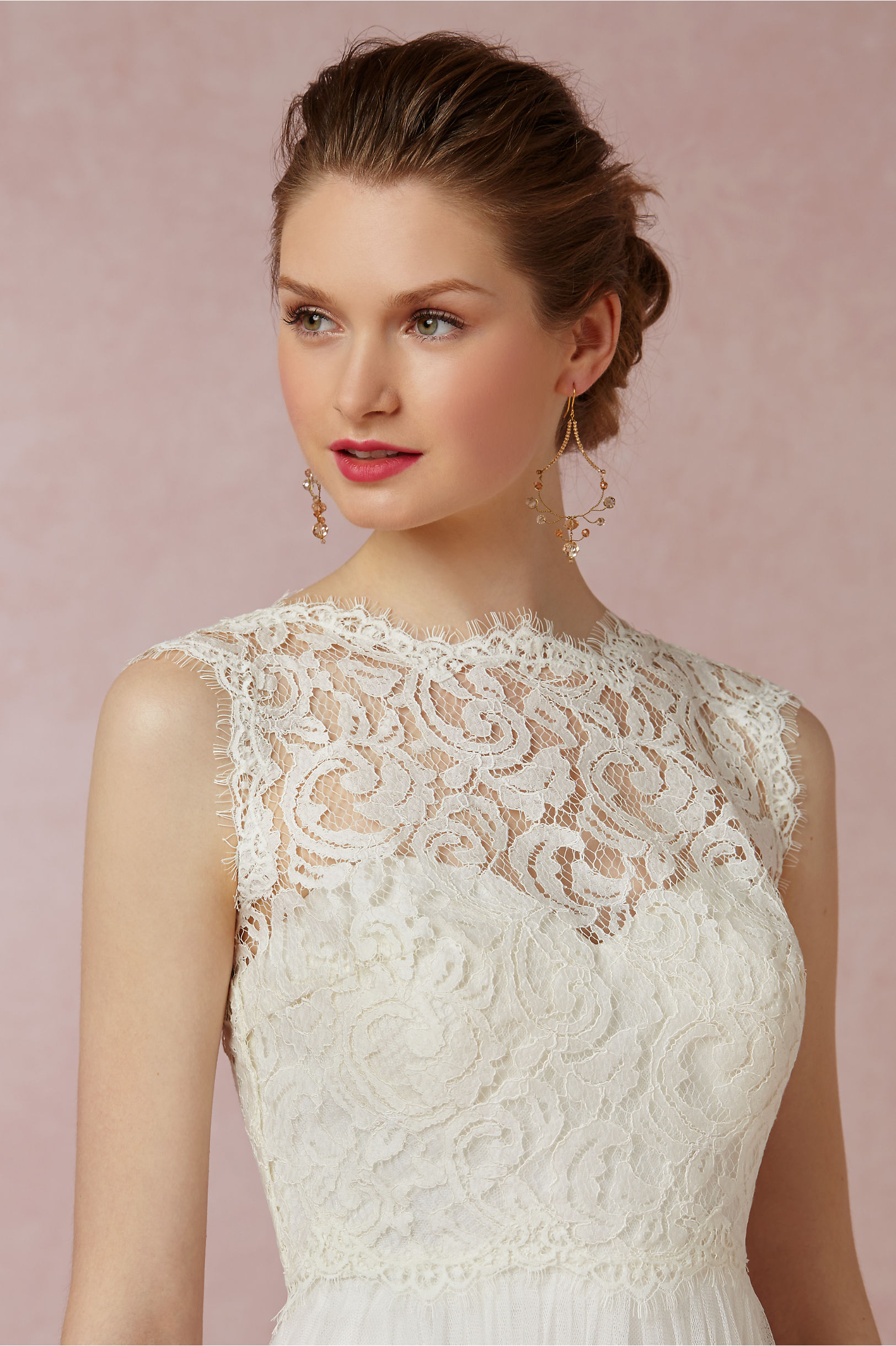 added just gold honey zoom dress halo twigs earrings wedding shop a bhldn sale in spring dreams xl