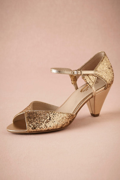 View larger image of Glittering Gold Heels