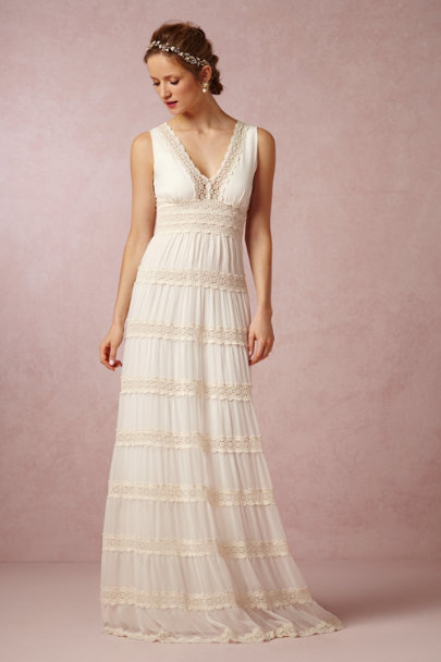 Kite And Erfly Ivory Rosemary Dress Bhldn