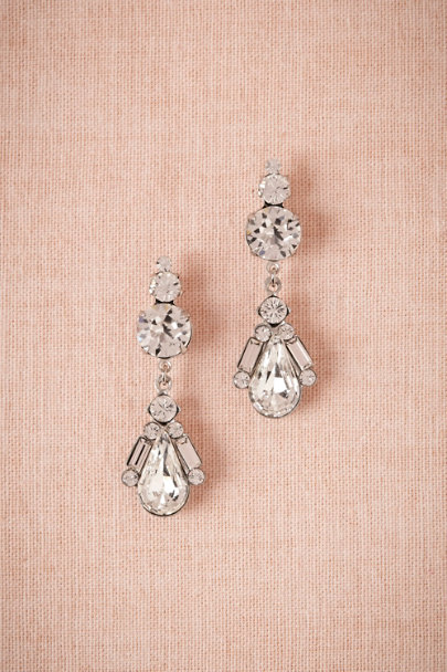 Debra Moreland Crystal Moderne Earrings | BHLDN