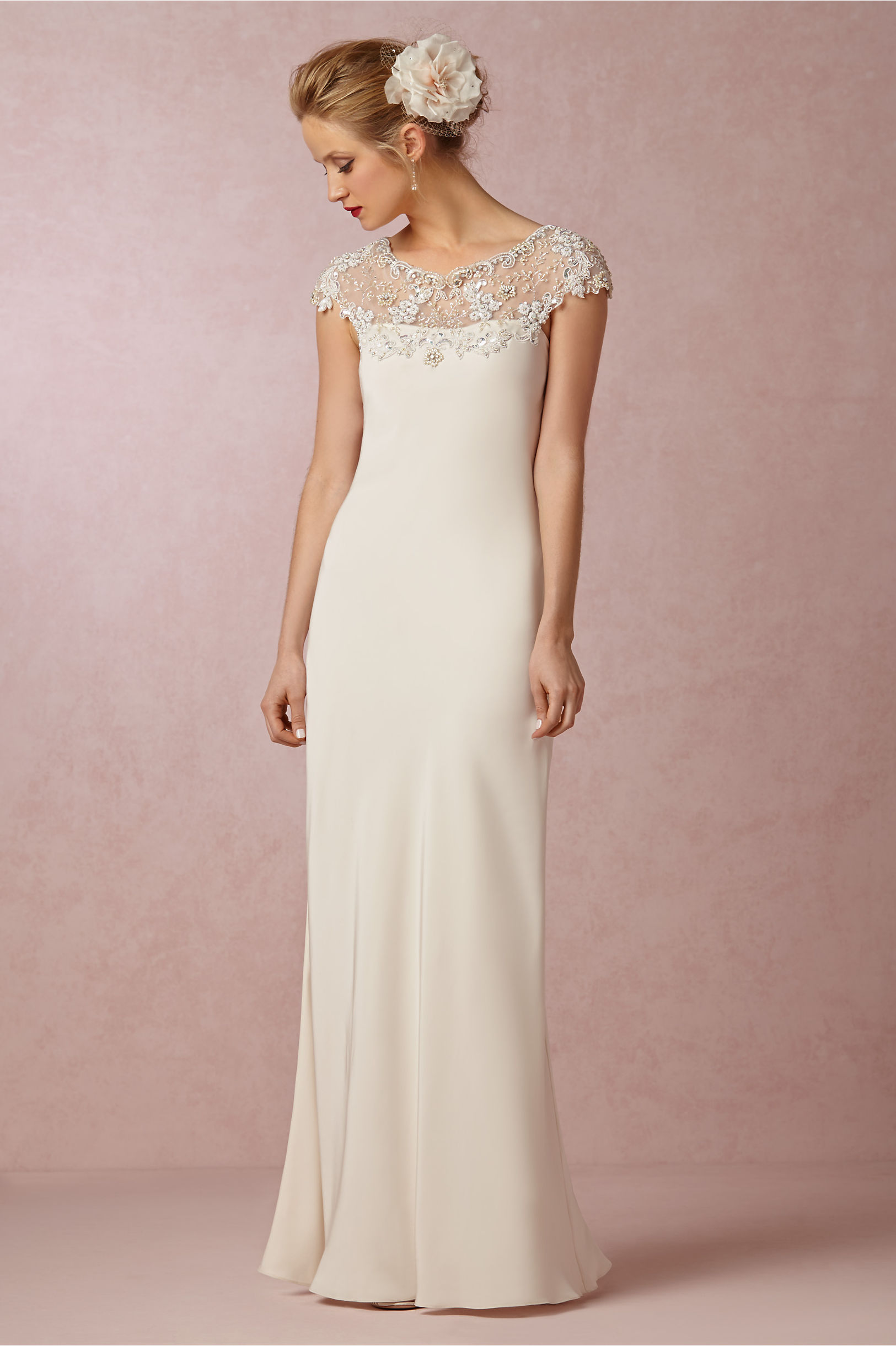 Avalon Gown in Bride | BHLDN