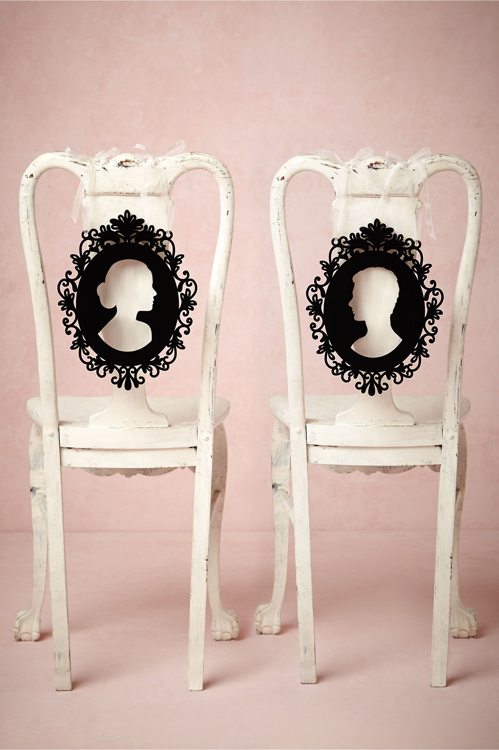 Silhouette Chair Signs in Décor & Gifts | BHLDN