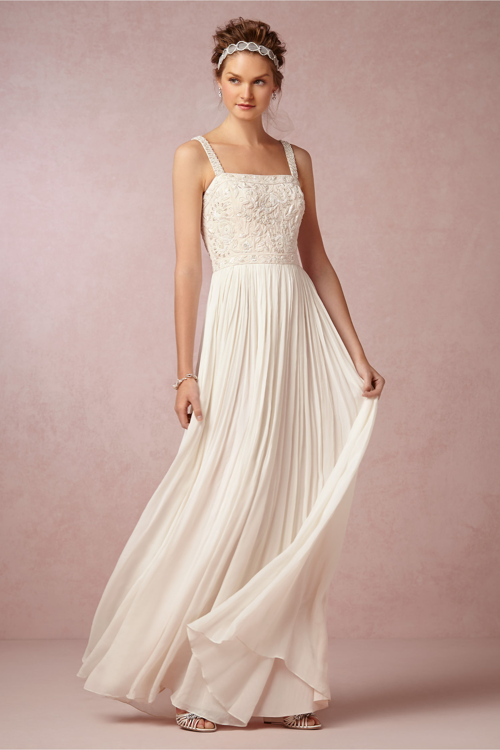 Carolina Gown in Bride | BHLDN