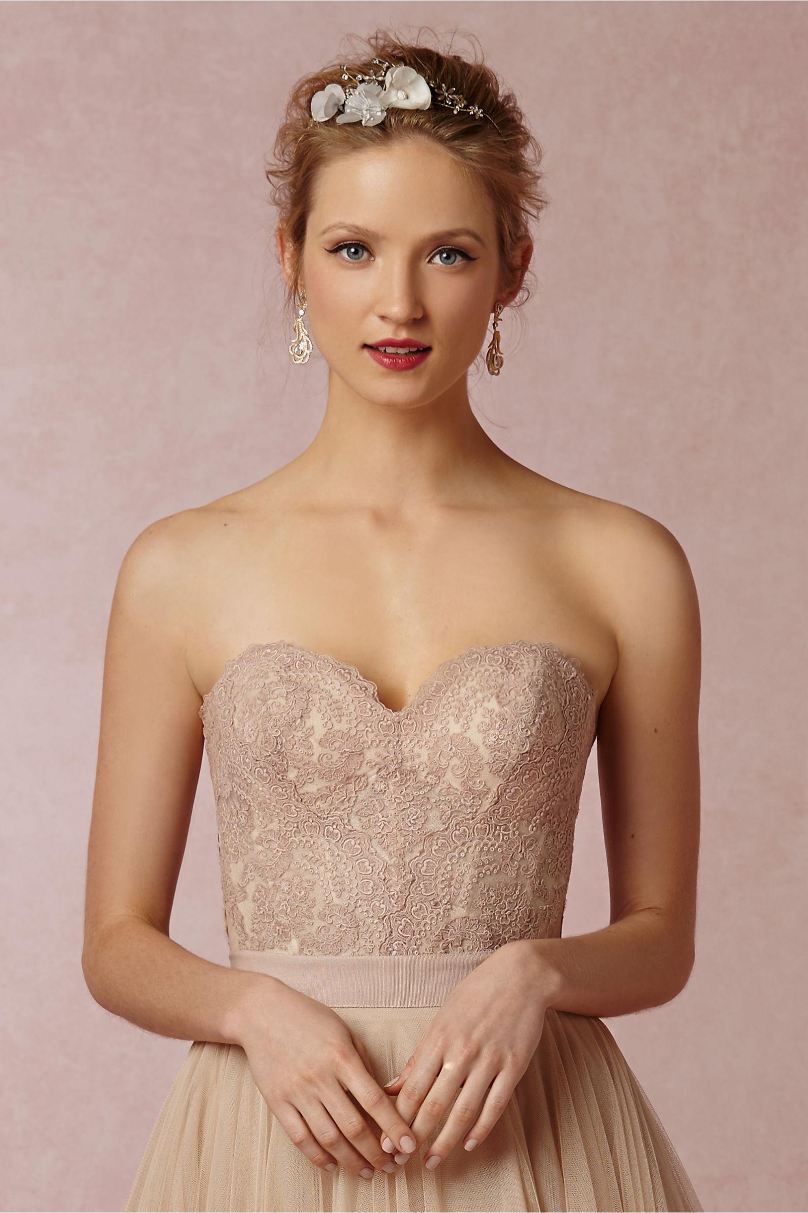Carina Corset in Bride | BHLDN