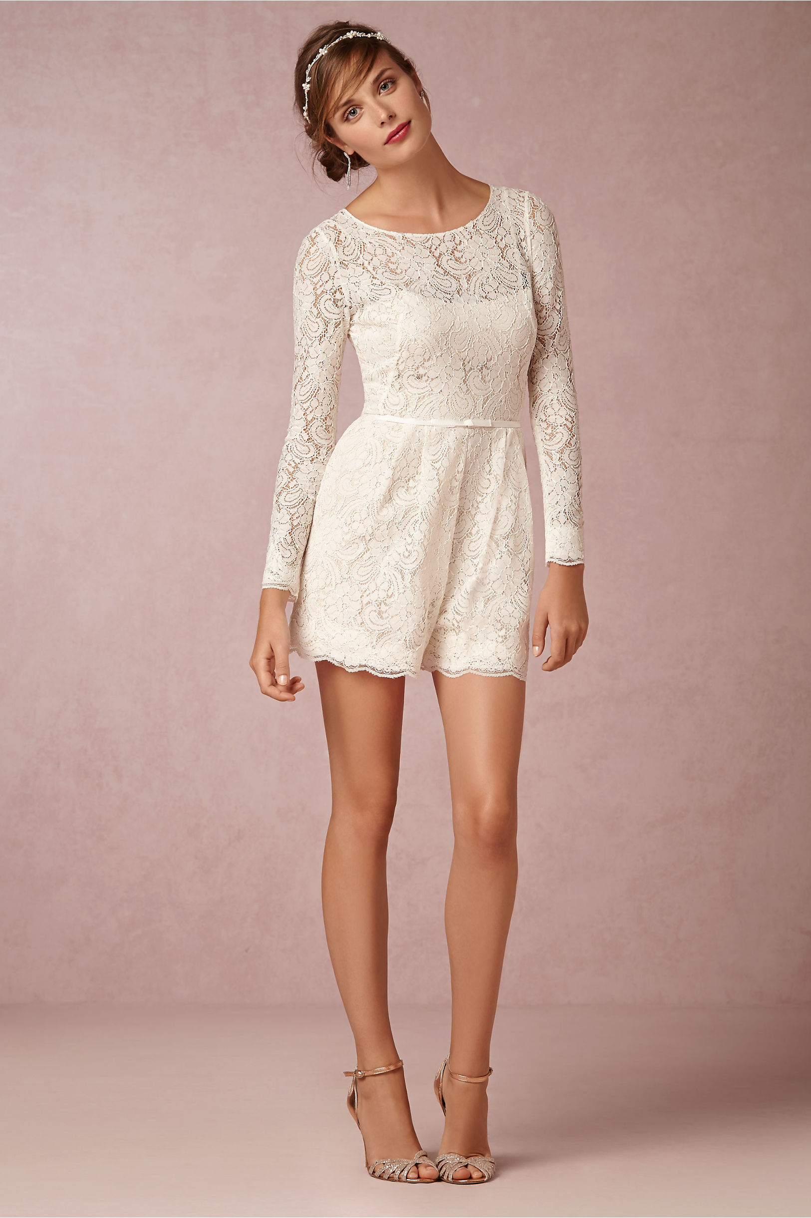 Prato Romper In Bride Bhldn