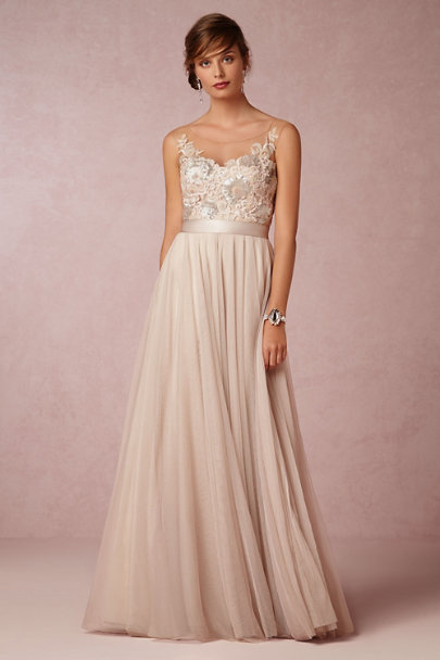 8377d4b404b Watters Antique Rose Lucca Maxi