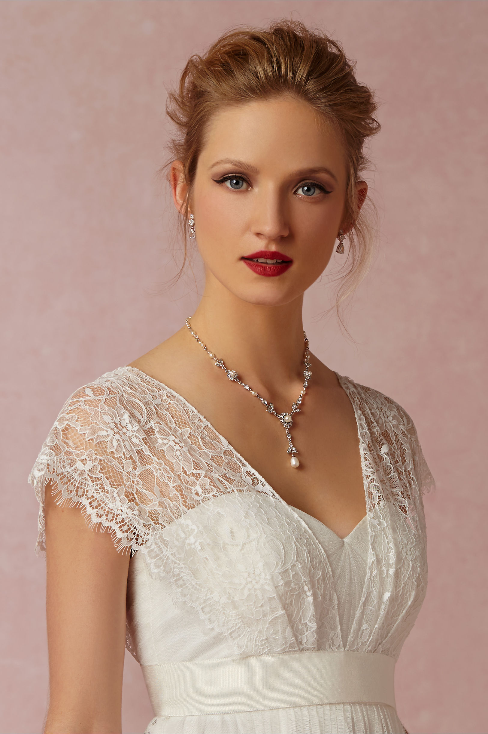 Iris Topper in Bride | BHLDN