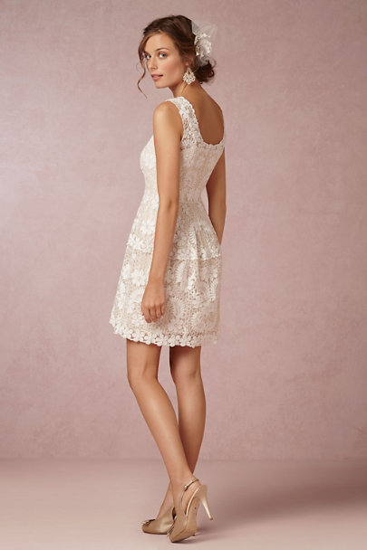 Yoana Baraschi ivory Lavinia Dress | BHLDN