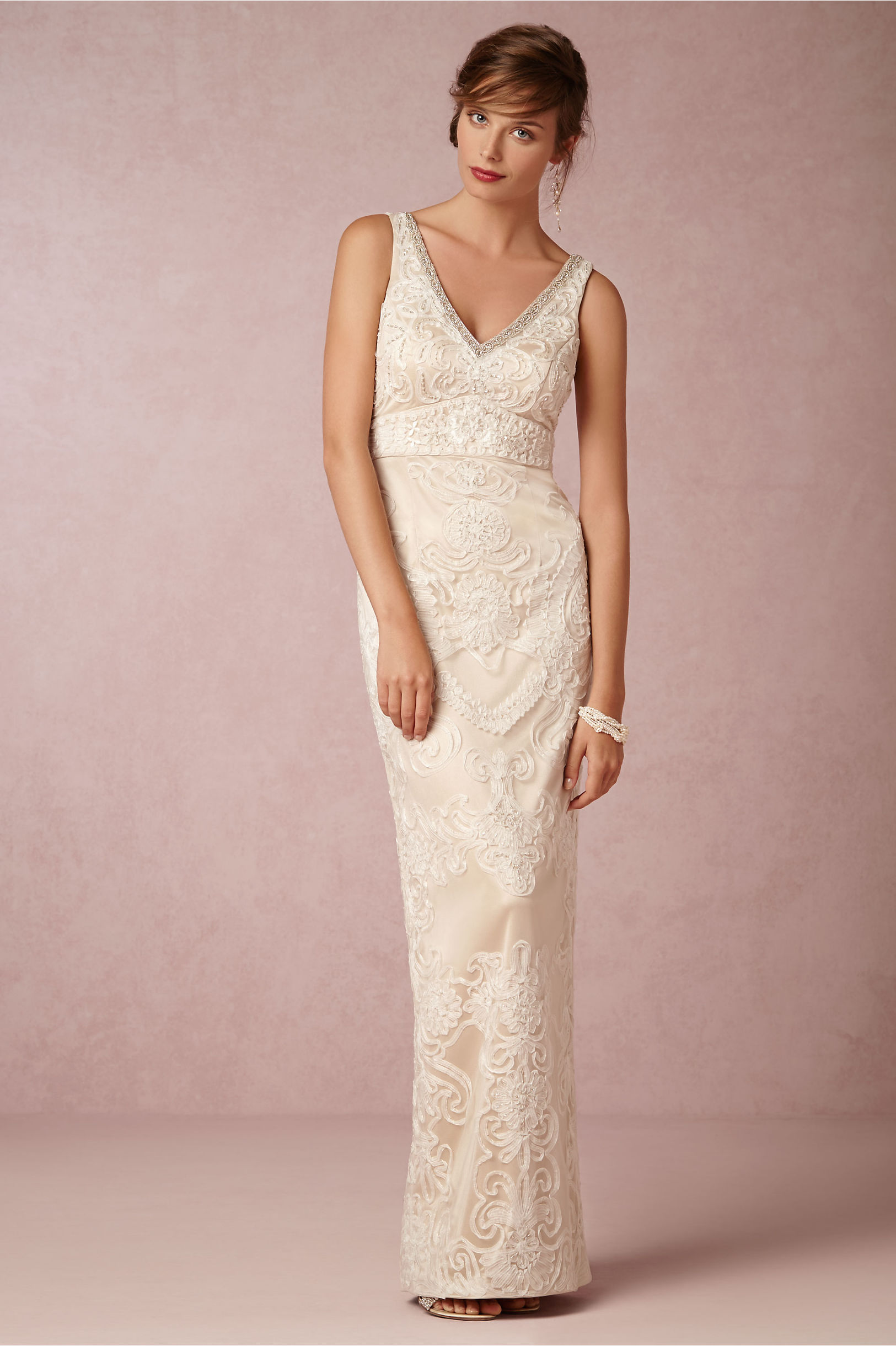 Adele gown in bride bhldn sue wong champagne adele gown bhldn junglespirit Gallery