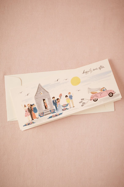 multi Happily Ever After Card | BHLDN