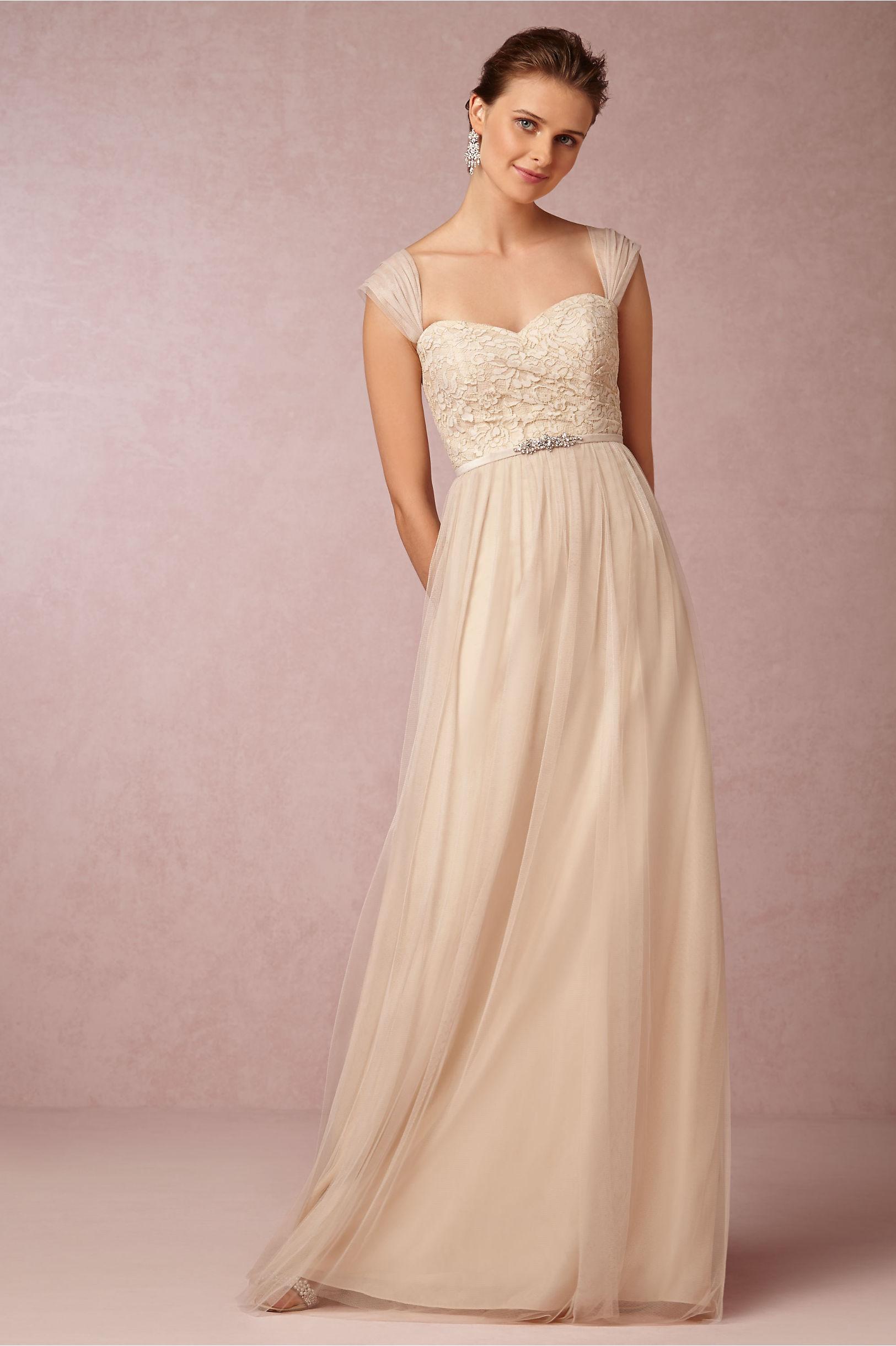 Jenny Yoo Cashmere Juliette Dress