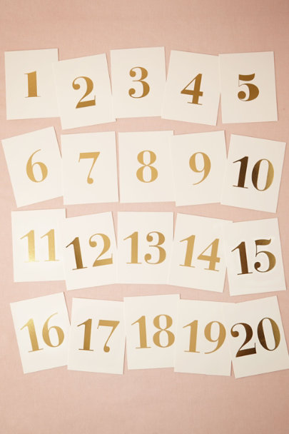 View larger image of Foil Table Numbers (5)