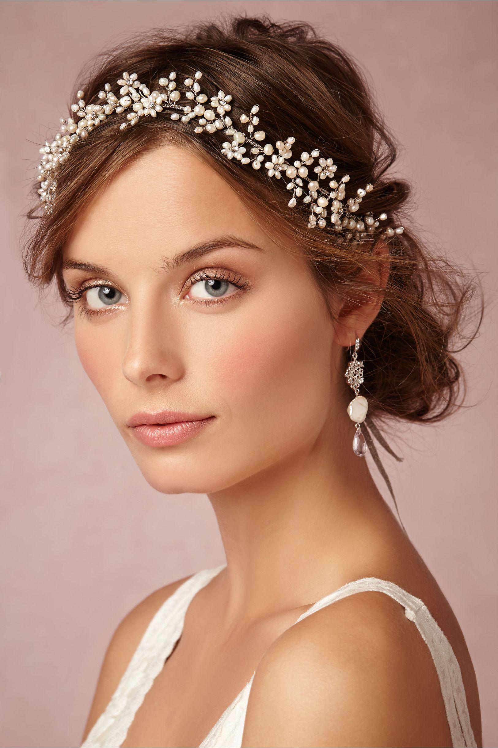 Pearly dreams halo in bride bhldn twigs honey pearl pearly dreams halo bhldn izmirmasajfo Choice Image
