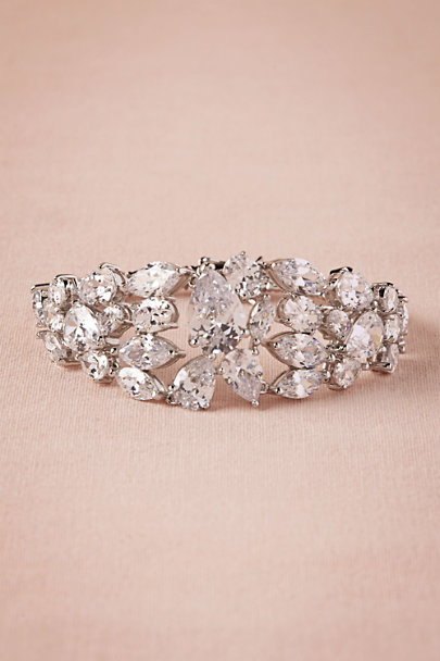 Kenneth Jay Lane Silver Blakely Bracelet | BHLDN
