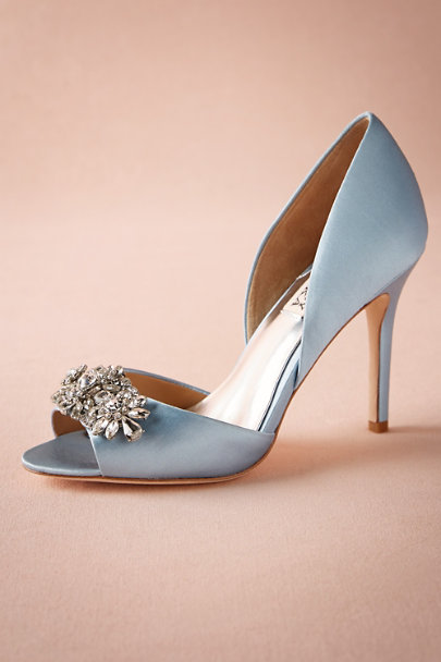 Badgley Mischka Light Blue Lou D Orsay Pumps Bhldn