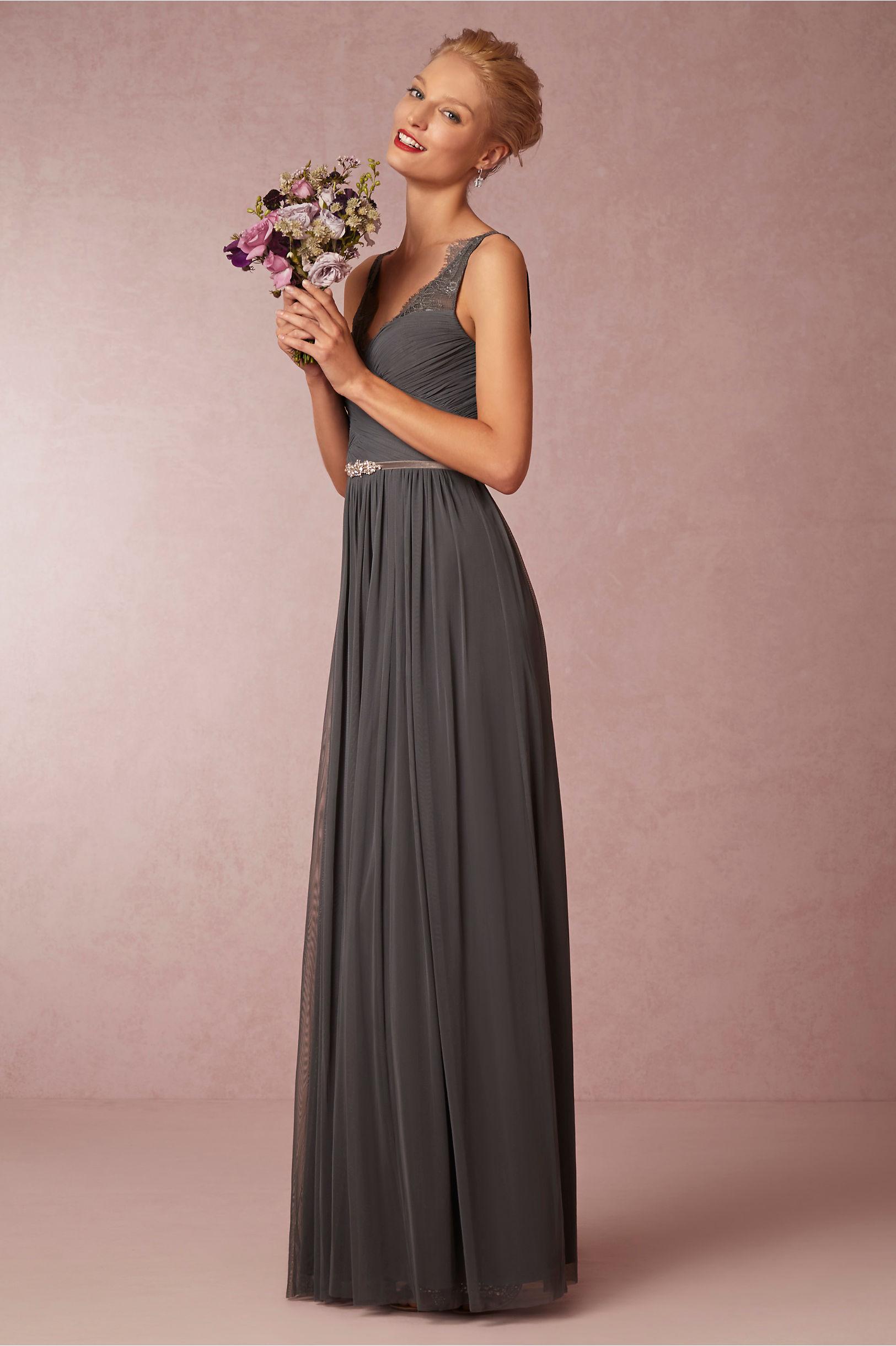 666ce858fbb Hitherto Pewter Fleur Dress
