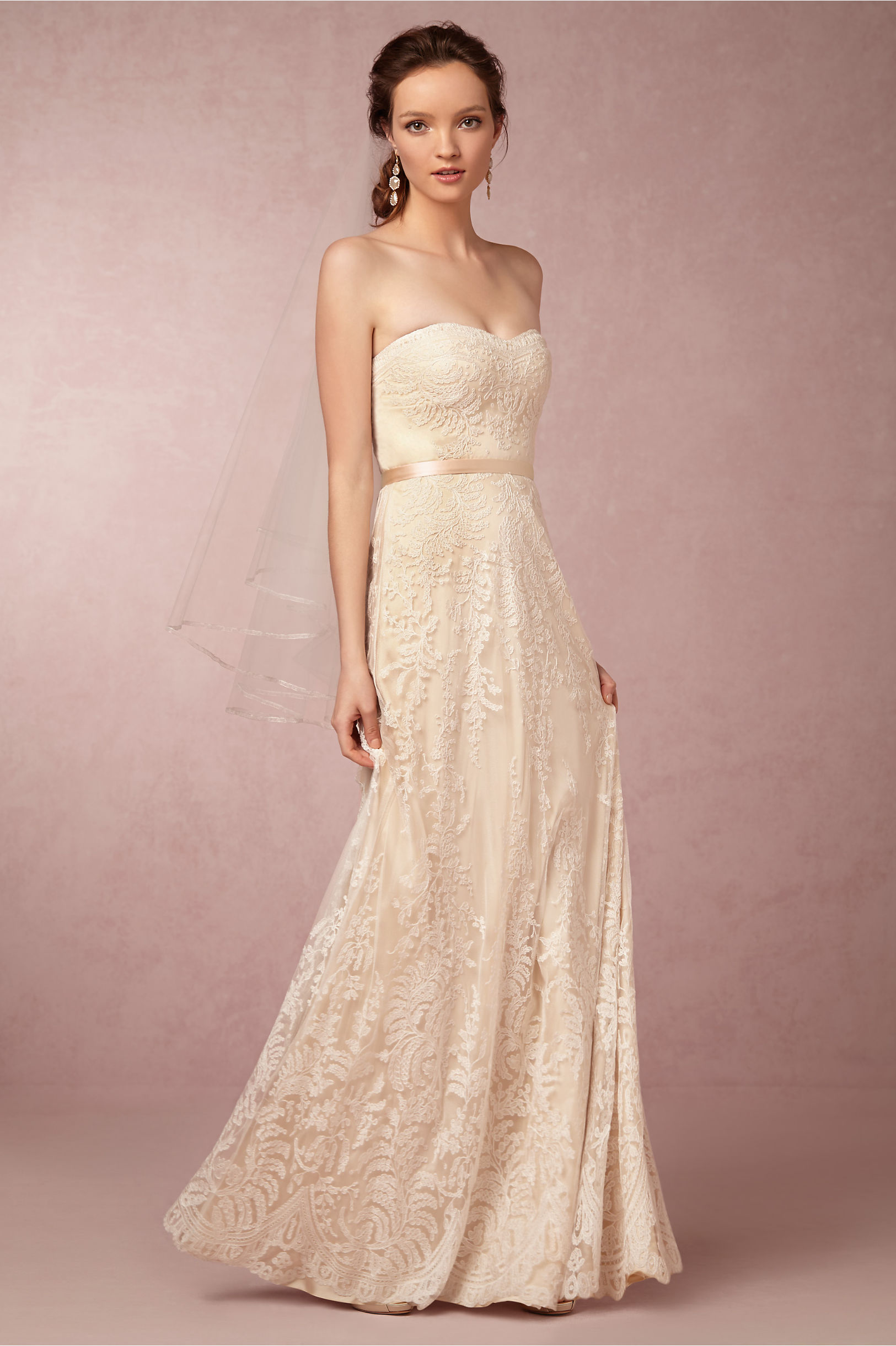 Zahara Gown in Bride | BHLDN