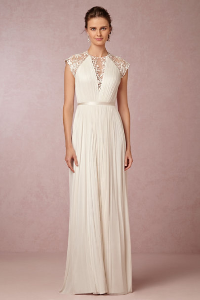 Catherine Deane ivory Zoe Gown | BHLDN