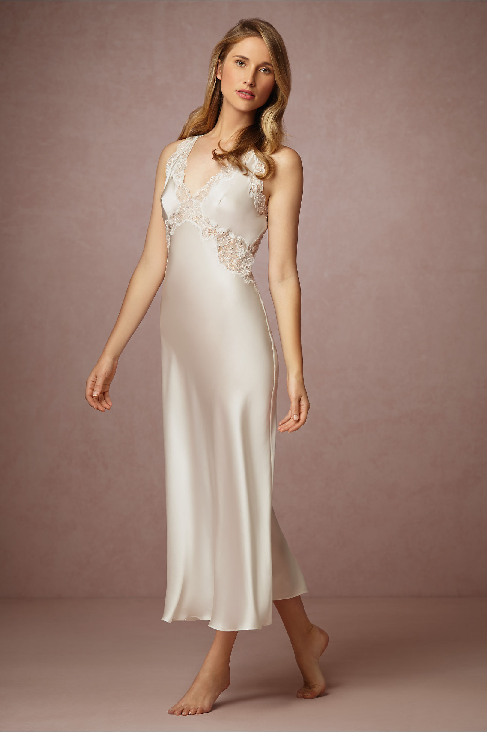 Henriette Open Back Gown in New & Noteworthy   BHLDN