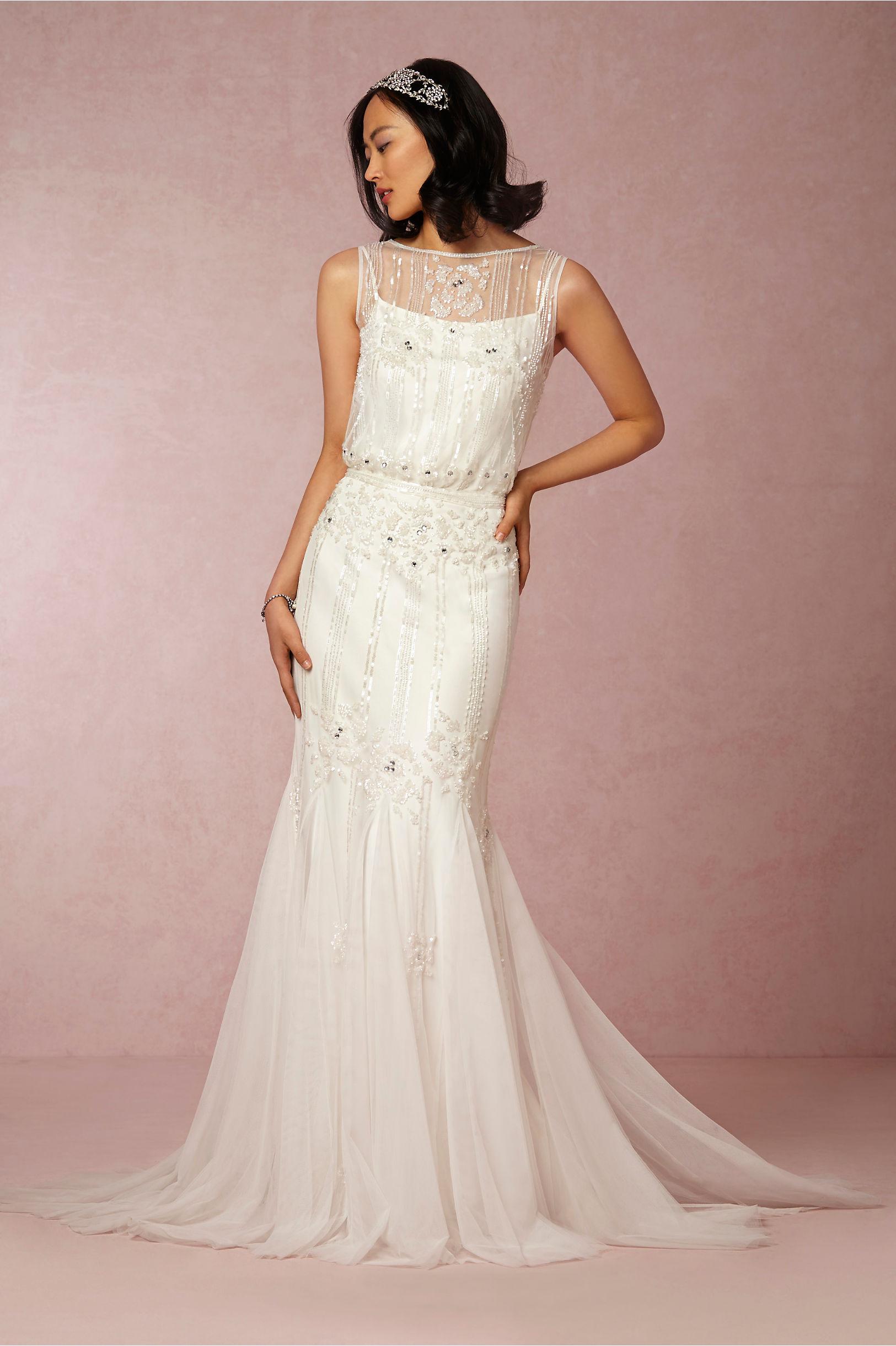 Magnolia Gown in Bride   BHLDN