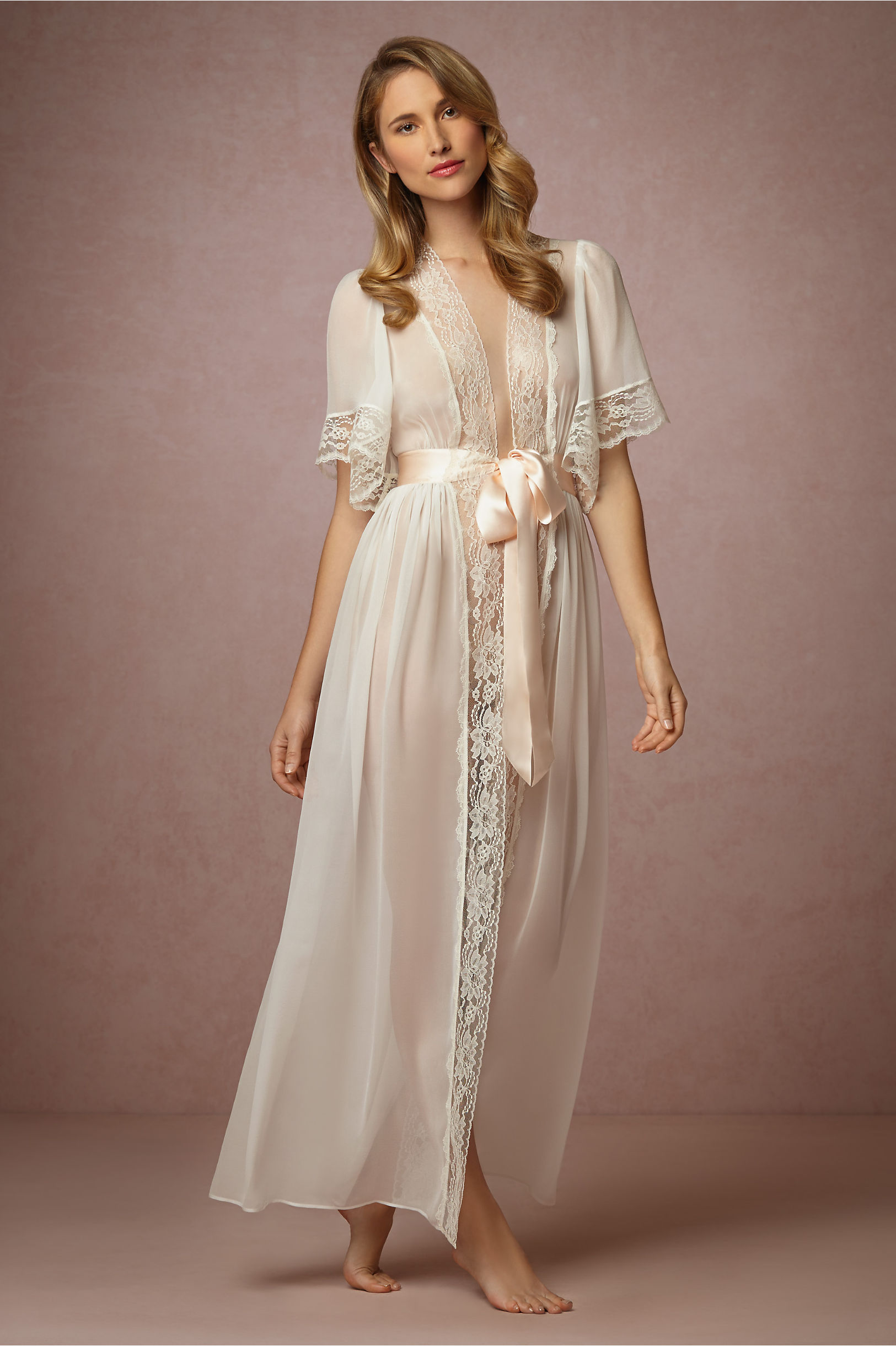 Starlet Robe in Lingerie | BHLDN