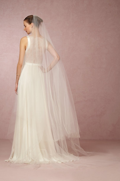 Paris by Debra Moreland Ivory Athena Cathedral Veil | BHLDN
