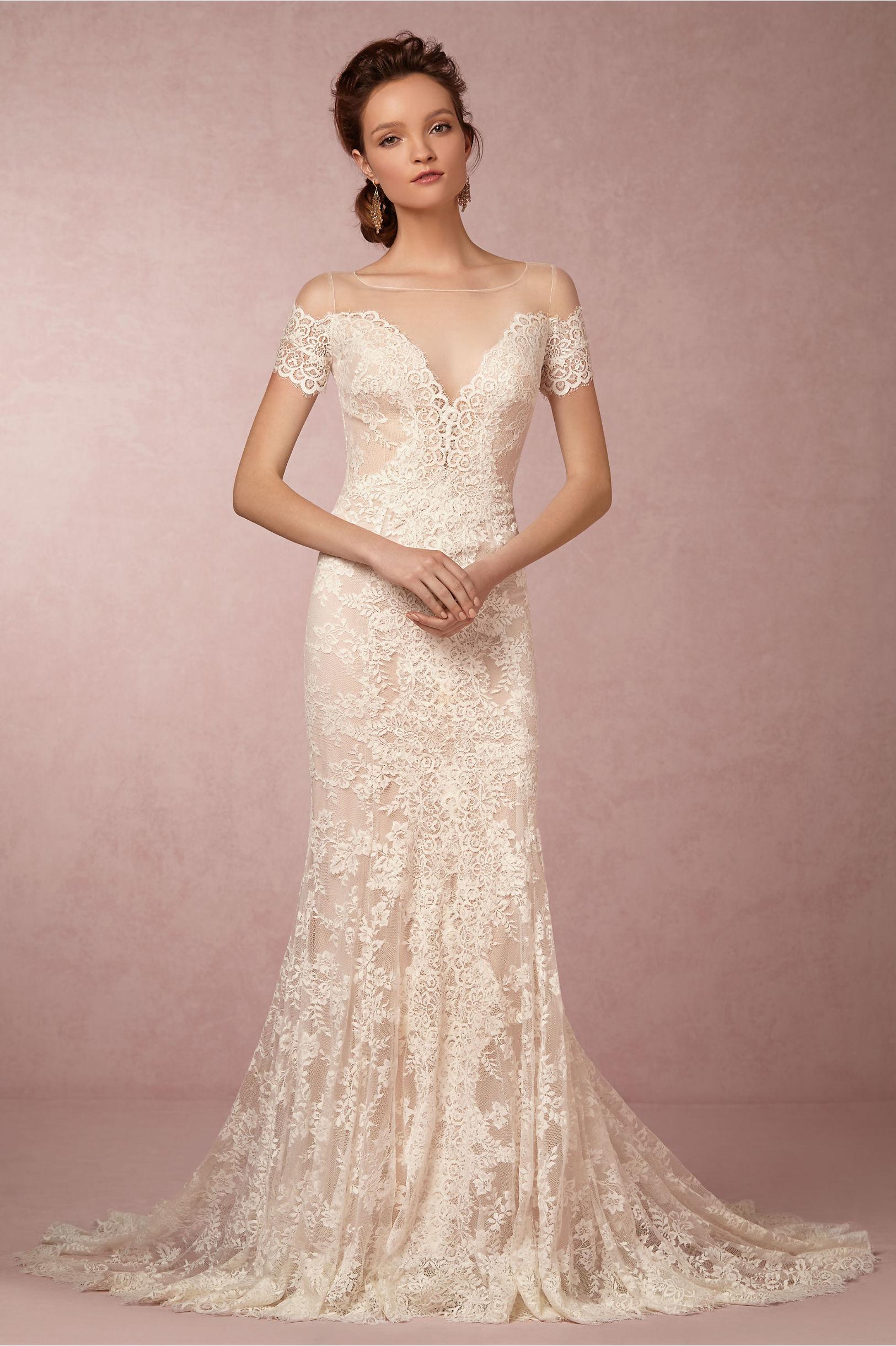 Mila Gown in Bride | BHLDN